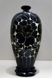 平定黑釉刻花陶瓷制作工艺