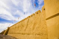 黄色古城墙