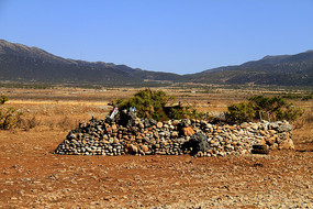 玉龙雪山神秘石堆