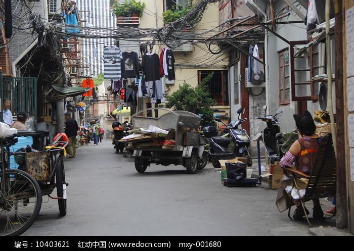 市井老街生活图片