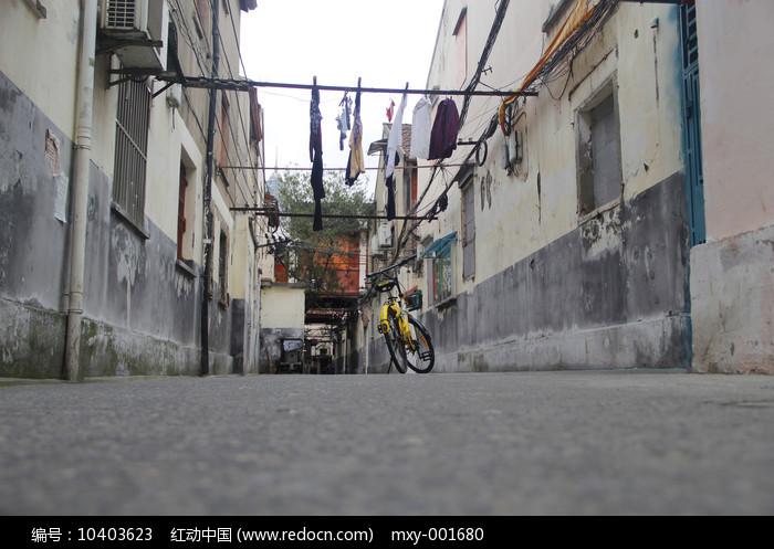 巷子单车图片