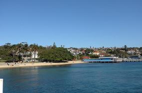 悉尼屈臣氏湾海面