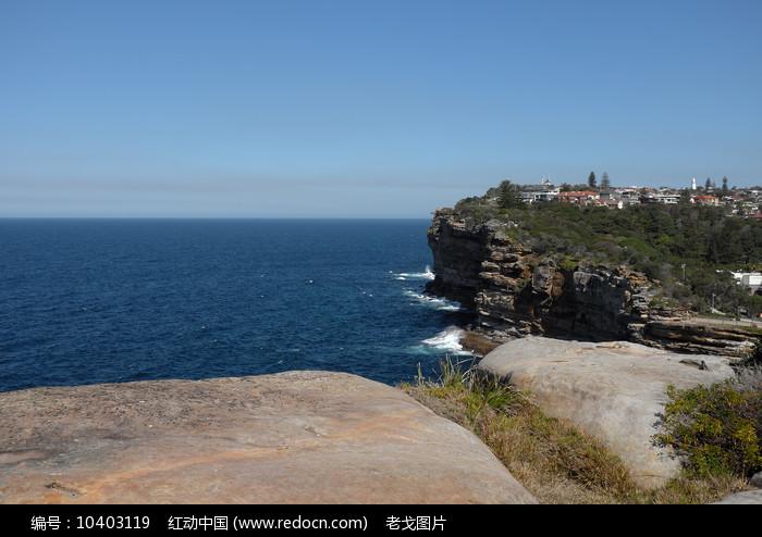 悉尼屈臣氏湾悬崖图片