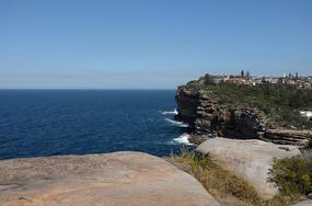 悉尼屈臣氏湾悬崖