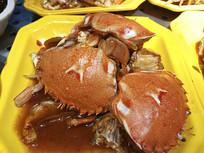 美味梭子蟹