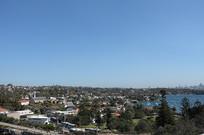 悉尼城市全景