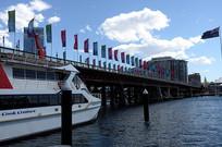 悉尼达令港游船码头