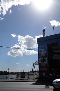 悉尼海鲜码头入口