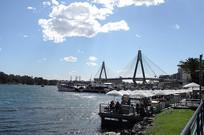悉尼海鲜码头远眺
