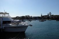 悉尼屈臣氏湾游艇停泊