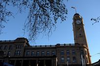 悉尼火车站钟楼横构图