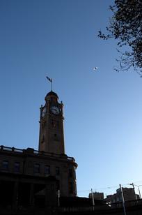 悉尼火车站钟楼竖构图