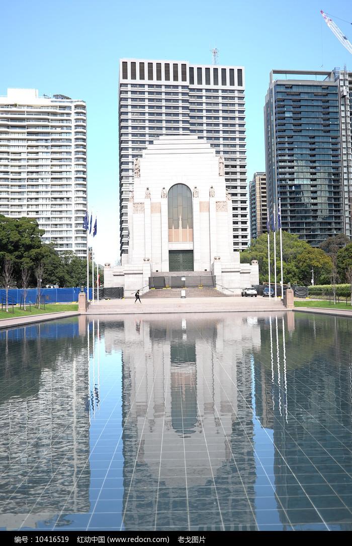 悉尼海德公园景观图片