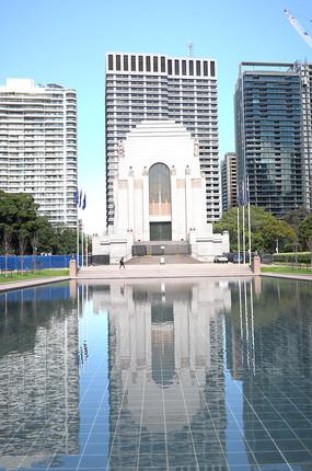 悉尼海德公园景观