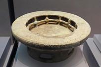 战国早期原始青瓷炉盘