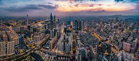 广州夜景航拍