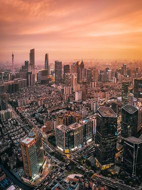 广州城市夜景风光摄影