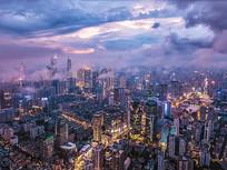 广州CBD夜景航拍