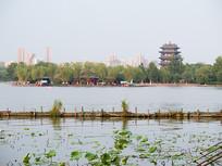 济南大明湖景观