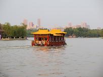 济南大明湖游船