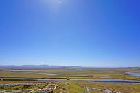 俯拍黄河第一湾