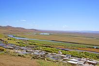 黄河第一湾草原风光