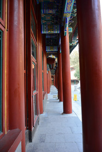 颐和园万寿亭柱廊