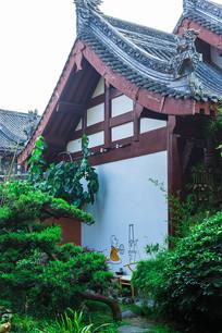 一座茶艺浓厚的历史仿古小院