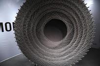 圆形艺术创意展示
