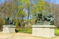 柏林蒂尔加藤公园雕塑