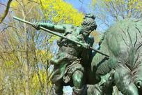 柏林普鲁士皇家狩猎场景雕塑