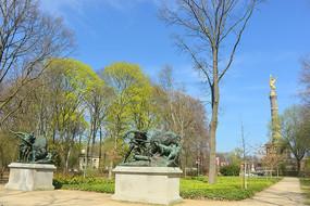 柏林普鲁士皇家狩猎雕塑