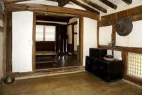 朝鲜时代传统韩屋起居室