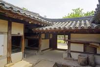 朝鲜时代传统韩屋庭院