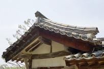 朝鲜时代传统韩屋瓦顶