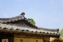 朝鲜时代传统韩屋瓦顶及飞檐