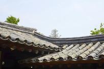朝鲜时代韩屋梧村宅瓦顶及飞檐