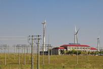 风力发电电厂