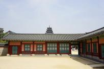 韩国景福宫咸和堂和缉敬堂建筑