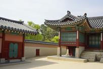韩国景福宫咸和堂和缉敬堂一角