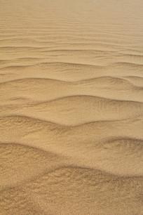 沙漠波浪流纹痕迹