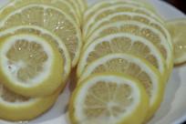 新鲜柠檬片