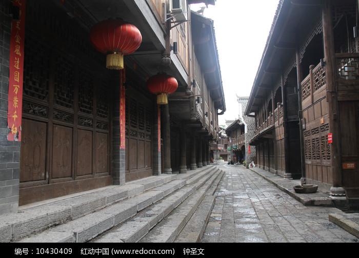 重庆黔江濯水古镇老街图片