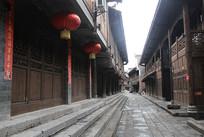 重庆黔江濯水古镇老街