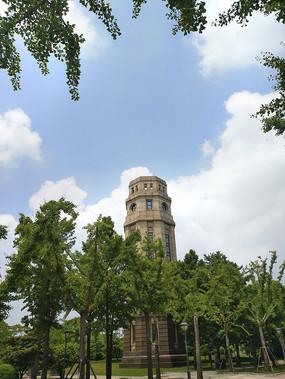 复旦江湾校区建筑塔楼