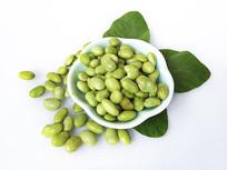 绿叶青毛豆