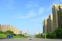 城市风光道路及交通设