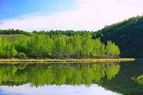 大兴安岭湖光山色风光
