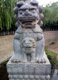 辟邪石狮子雕塑