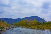 丹东宽甸青山沟河流
